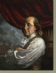 Benjamin Franklin First American Blogger