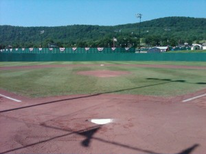 Cooperstown Dreams Park view from behind the plate