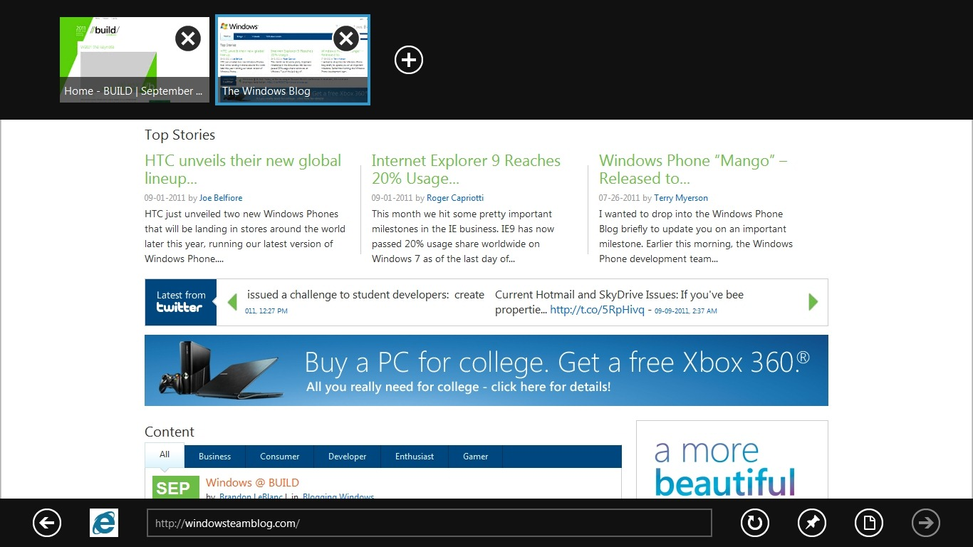 how to download internet explorer for window 8