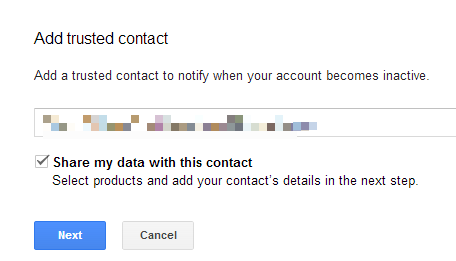 Google Inactive Account Manager 1